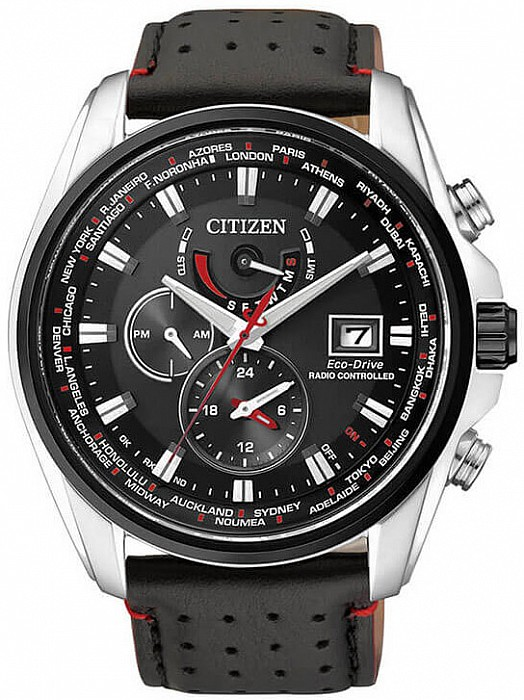 Citizen Radio Controlled AT9036-08E Radio Controlled Eco-Drive ... e6a204e179