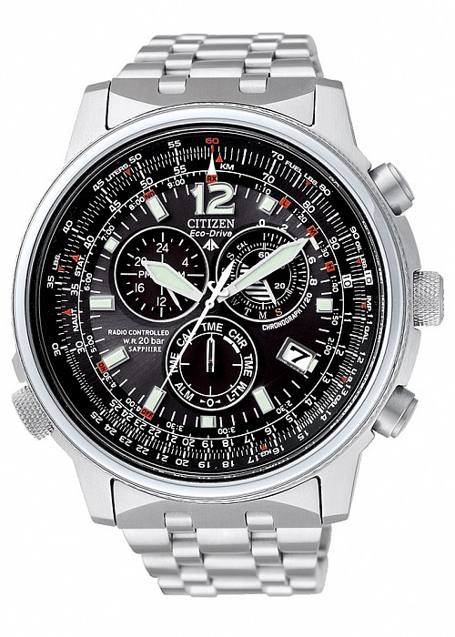 Citizen Promaster AS4020-52E Sky Pilot Radio Controlled Eco Drive