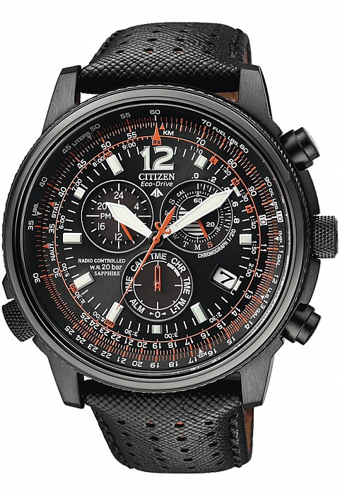 Citizen Promaster AS4025-08E Sky Pilot Radio Controlled Eco Drive