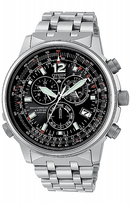 Citizen Promaster AS4050-51E Sky Pilot Radio Controlled Eco Drive