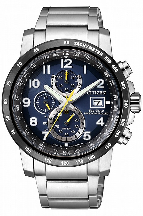 Citizen Radio Controlled AT8124-91L Eco Drive