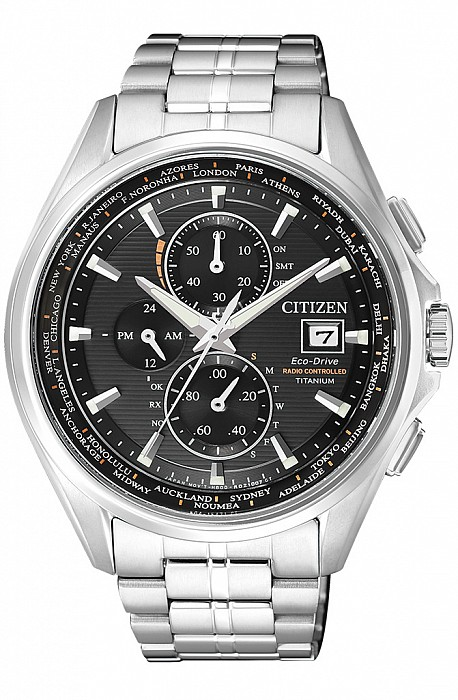 Citizen Super titanium AT8130-56E Radio Controlled Eco-Drive