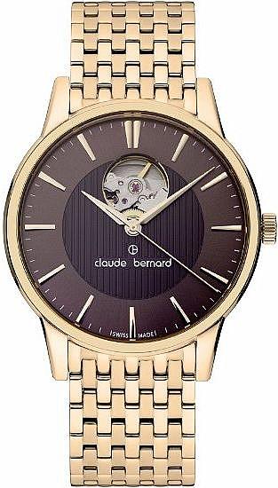 Claude Bernard Classic 85017 37RM BRIR Automatic Open Heart