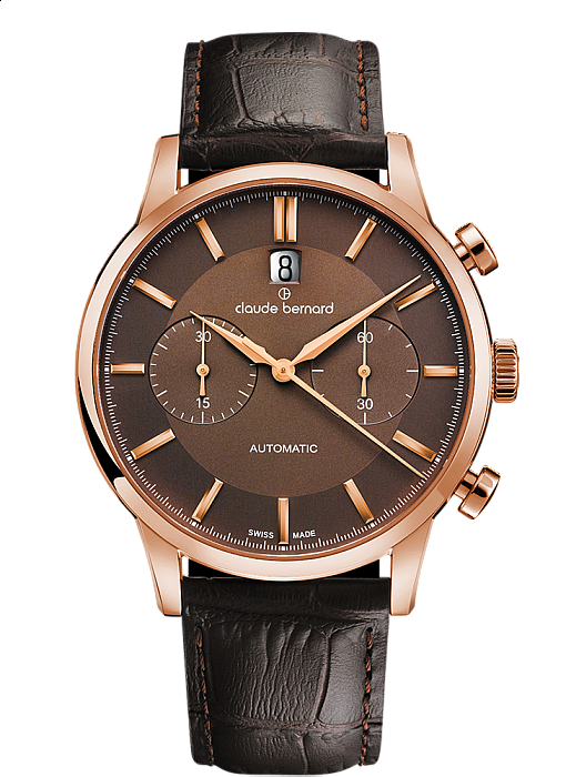Claude Bernard Classic 08001 37R BRIR Chronograph Automatic