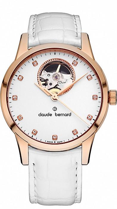 Claude Bernard Classic 85017 37R APR Automatic Open Heart