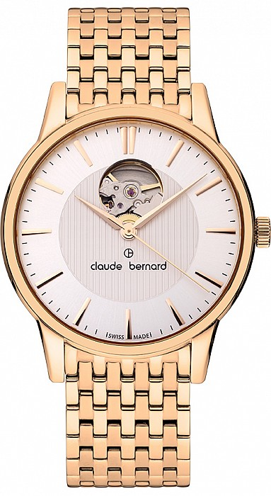 Claude Bernard Classic 85017 37RM AIR Automatic Open Heart
