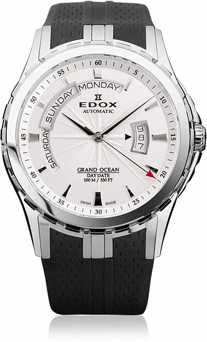 Edox Grand Ocean 83006 3 AIN Day Date Automatic
