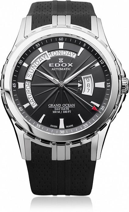 Edox Grand Ocean 83006 3 NIN Day Date Automatic