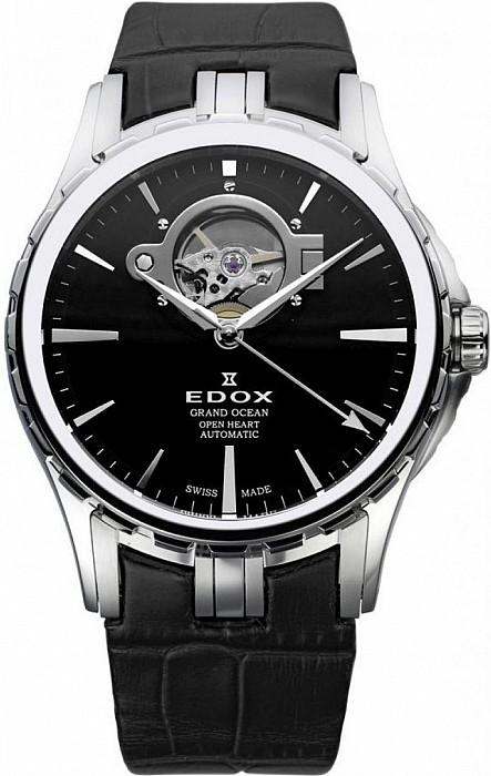 Edox Grand Ocean 85008 3 NIN Open Heart Automatic