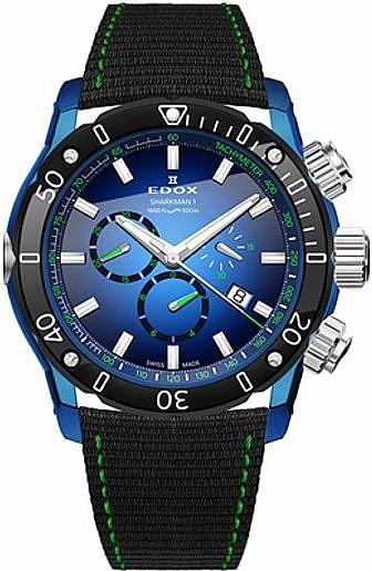 Edox Chronoffshore-1 10221 357BU BUV Sharkman Limited Edition