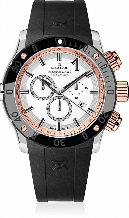 Edox Chronoffshore-1 10221 357R BINR Chronograph