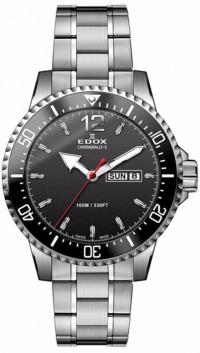 Edox Chronorally-S 84300 3M NBN Day / Date