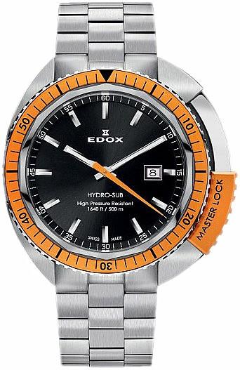 Edox Hydro Sub 53200 3OM NIN 3-Hands