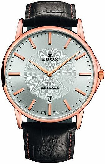 Edox Les Bémonts 56001 37R AIR SLIM LINE DATE