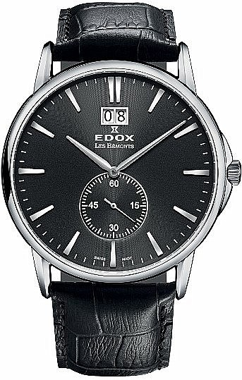 Edox Les Bémonts 64012 3 NIN Big Date