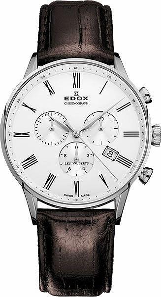 Edox Les Vauberts 10408 3A AR Chronograph