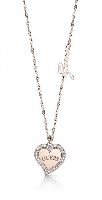 Guess UBN78069 náhrdelník Heart Warming Original  5860d9b2261