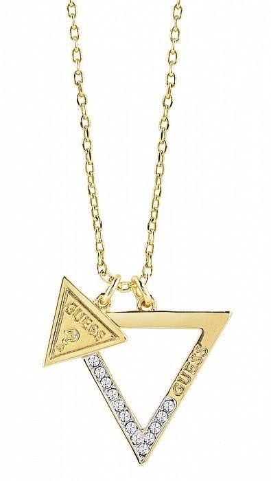 Guess UBN83091 náhrdelník - ICONIC 3ANGLES (Necklace - GOLD ... c3dd538083b