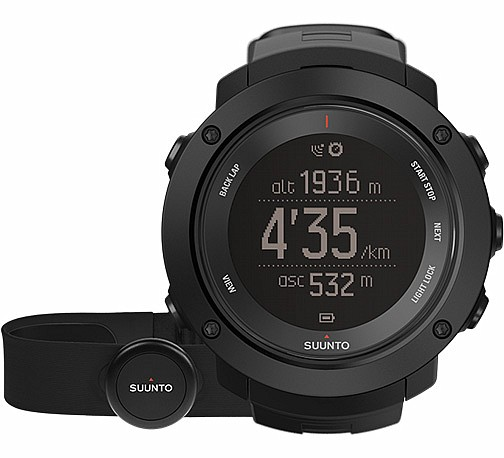 Suunto Ambit3 VERTICAL HR Black s GPS