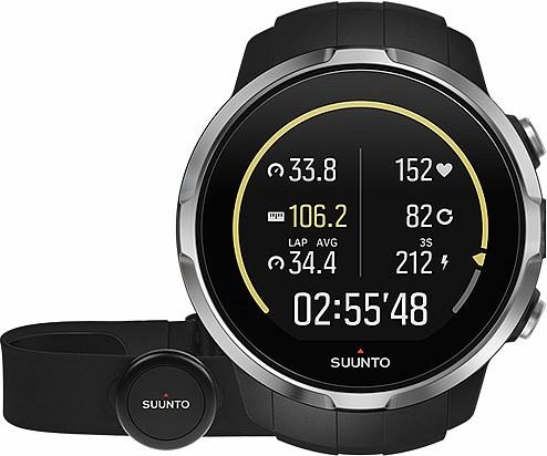 Suunto Spartan Sport Black HR s GPS