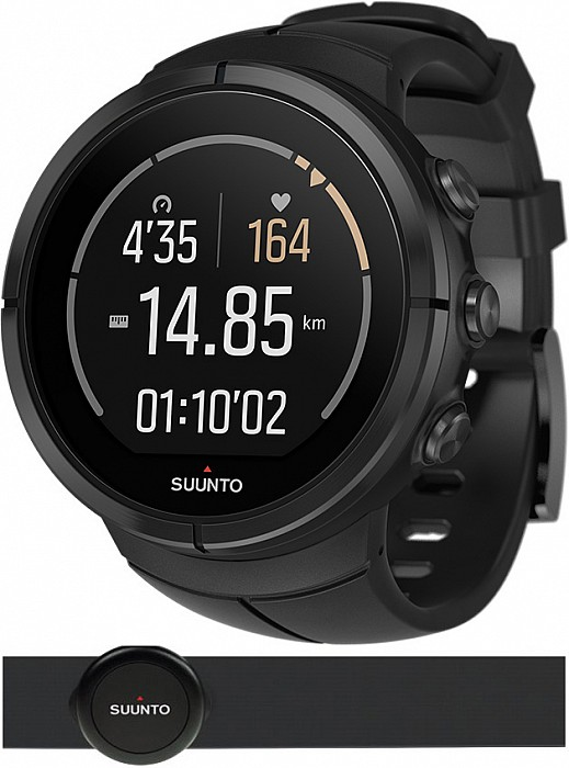Suunto Spartan Ultra All Black Titanium HR s GPS