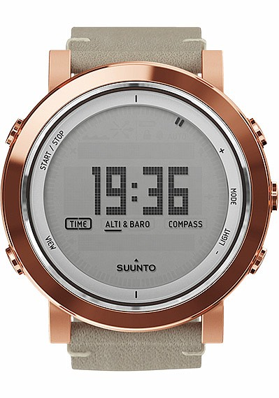 Suunto Essential Ceramics Copper Nude Leather
