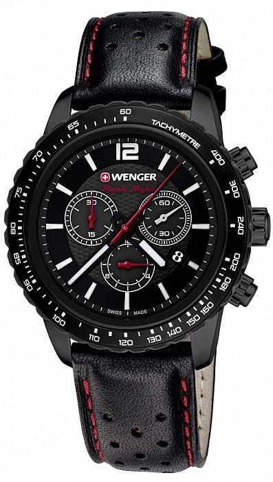 Wenger Sport Dynamic 01.0853.108 Roadster Black Night Chrono