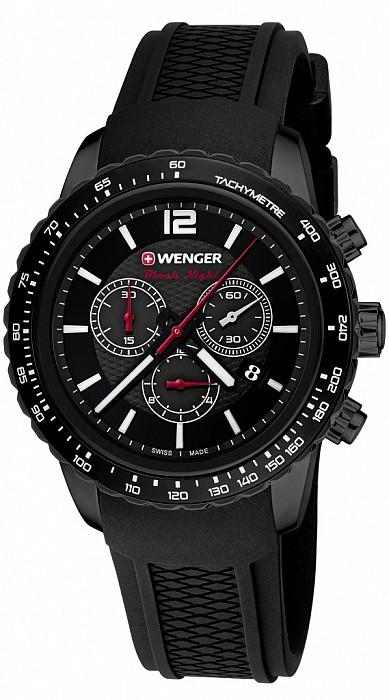Wenger Sport Dynamic 01.0853.109 Roadster Black Night Chrono