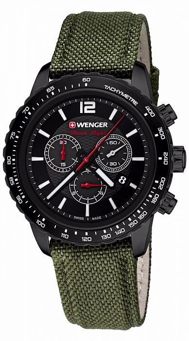 Wenger Sport Dynamic 01.0853.110 Roadster Black Night Chrono