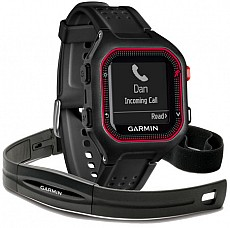 Garmin Forerunner 25 Black/Red HR s GPS (vel. XL)