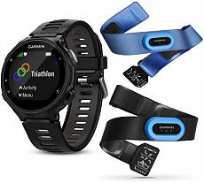 Garmin Forerunner 735XT Black Optic Tri Bundle s GPS