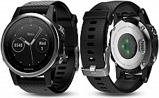 Garmin Fenix 5 S Silver Optic Black Band s GPS