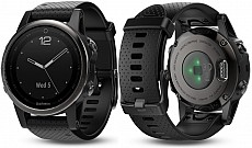 Garmin Fenix 5 S Gray Sapphire Optic Black Band s GPS
