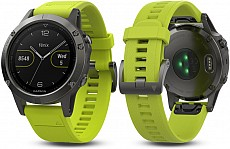 Garmin Fenix 5 Gray Optic Yellow band s GPS