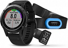 Garmin Fenix 5 Black Sapphire Optic TRI Performer Black Band s GPS