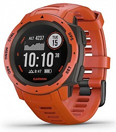 Garmin Instinct Red Optic s GPS