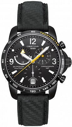 Certina DS Podium C001.639.16.057.01 Big Size Chrono GMT