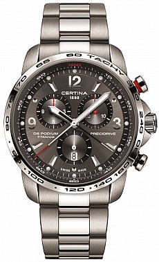 Certina DS Podium C001.647.44.087.00 Big Size Chrono 1/100 Precidrive