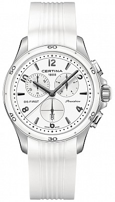 Certina DS First C030.217.17.017.00 Lady ceramic chrono