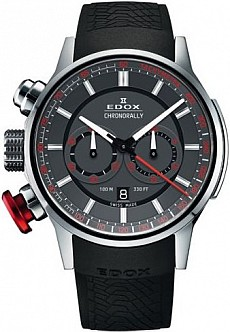 Edox Chronorally 10302 3 GR3 Chronograph