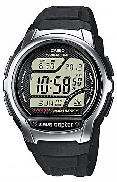 Casio Radio Controlled WV 58E-1A Wave Ceptor