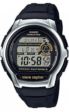 Casio Radio Controlled WV M60-9A Wave Ceptor