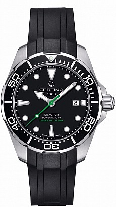 Certina DS Action C032.407.17.051.00 Gent Diver's Watch Automatic