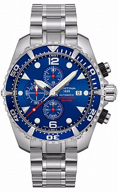 Certina DS Action C032.427.11.041.00 Chronograph Diver's Watch Automatic