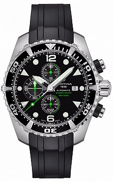 Certina DS Action C032.427.17.051.00 Chronograph Diver's Watch Automatic