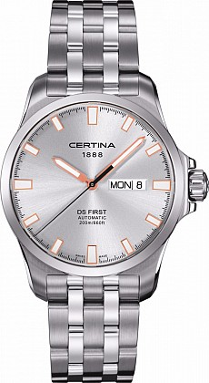 Certina DS First C014.407.11.031.01 Day-Date Automatic