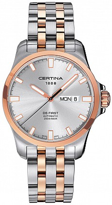 Certina DS First C014.407.22.031.00 Day-Date Automatic