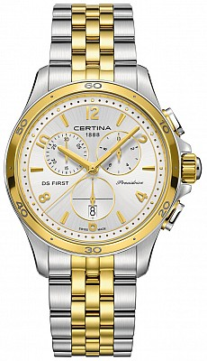 Certina DS First C030.217.22.037.00 Lady ceramic chrono
