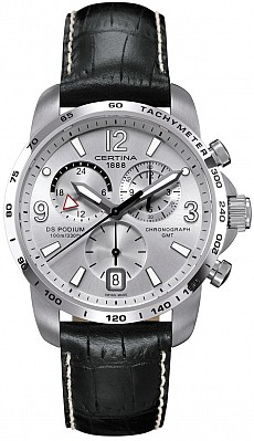 Certina DS Podium C001.639.16.037.00 Big Size Chrono GMT