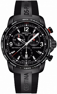 Certina DS Podium C001.647.17.057.00 Big Size Chrono 1/100 Precidrive